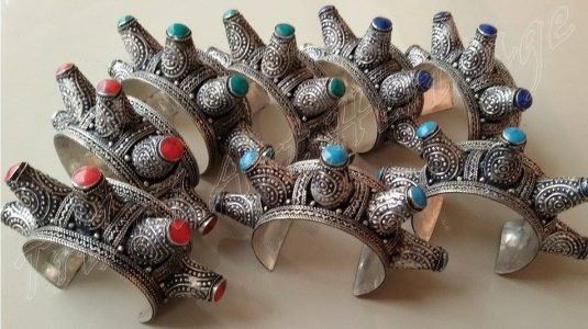 Kuchi Tribal Bracelets And Cuff