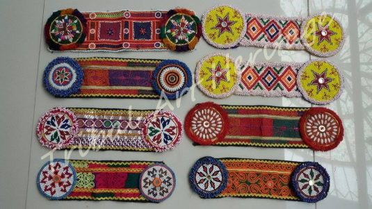 Tribal Dress Panel/ Kuchi Patches