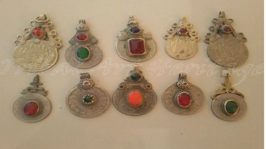 Kuchi pendant diy nooristan art gallery kuchi rare beaded coins aloadofball Images